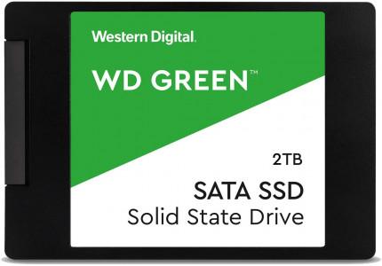 """WD 2TB SSD GREEN 3D NAND 6,35(2,5"""") SATA3"""