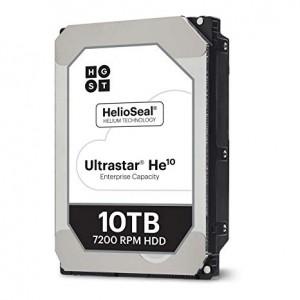 HGST/WD 10TB SATA 3 6GB/s 256MB 7200 ULTRASTAR DC HC520 512e