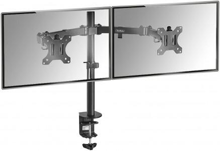 VonHaus dvojni namizni nosilec za dva monitorja do diagonale 27''