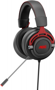 AOC GH300 RGB gaming slušalke z mikrofonom