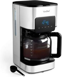 VonShef 1.5L filter aparat za kavo nerjaveče jeklo