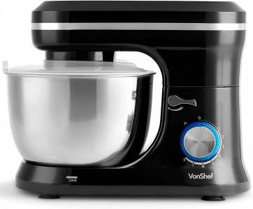 VonShef kuhinjski robot 1000W črn