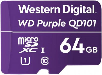 WD 64GB Purple microSD kartica Ultra