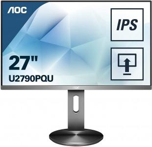 "AOC U2790PQU 27"" IPS 4k monitor"