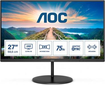"AOC U27V4EA 27"" IPS 4k monitor"