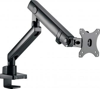 IcyBox enojni nosilec za monitor do diagonale 32'' z montažo na rob mize