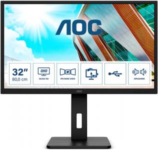 "AOC Q32P2 31,5"" IPS QHD 75Hz monitor"