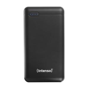 Intenso XS 20000mAh prenosna baterija - Črna