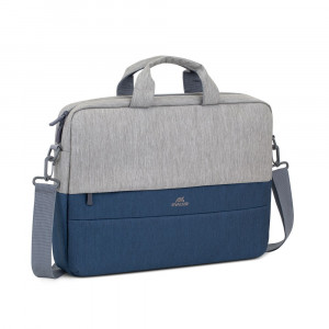 "RivaCase torba za prenosnik 15.6"" sivo-modra 7532"