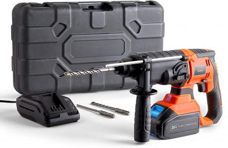 VonHaus akumulatorsko vrtalno kladivo SDS Plus + 20V D-Series baterija 4,0Ah 3500148