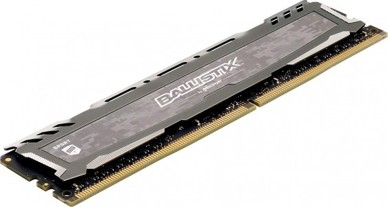 Ballistix Sport LT Gray 4GB DDR4-2666 UDIMM PC4-21300