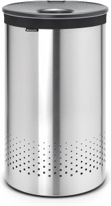 Brabantia koš za perilo 60L okrogel, Matt Steel