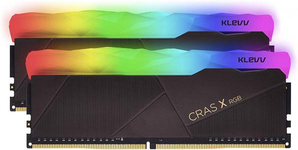 Klevv Cras X RGB 16GB Kit (2x8GB) DDR4-3600MHz CL18, 1.35V
