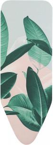 Brabantia prevleka in podloga za likalno desko C 124x45cm Tropical Leaves