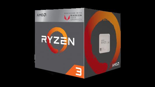 AMD Ryzen 3 2200G z RX Vega grafiko