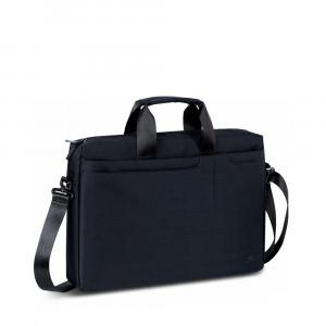 """RivaCase torba za prenosnik 15.6"""" črna 8335"""