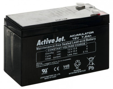 Activejet baterija/akumulator 12V 7Ah