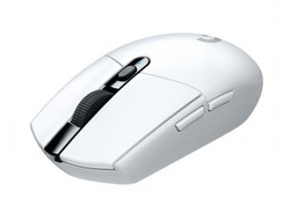 Logitech miška G305 LIGHTSPEED Wireless Gaming, bela