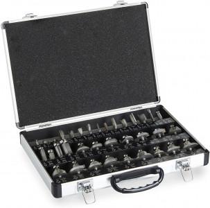 VonHaus 35-delni set nastavkov za rezkarja 6mm