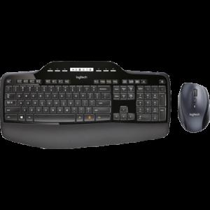 Logitech Wireless Desktop MK710 namizni komplet; SLO gravura