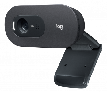 Logitech spletna kamera C505, HD, črna