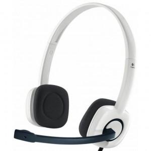 Logitech slušalke H150 stereo bele