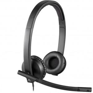 Logitech slušalke  OEM, H570e, mono, USB