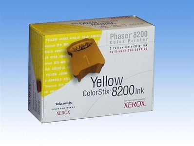 Xerox Yellow ColorStix  ph 8200