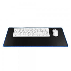 9H Podloga za miško in tipkovnico črno/modra M