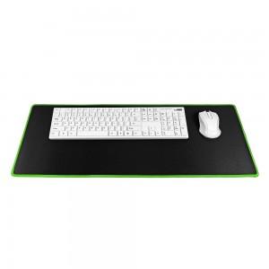 9H Podloga za miško in tipkovnico črno/zelena M