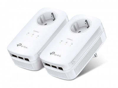 TP-LINK AV1200 3-Portni Gigabit Passthrough Powerline kit