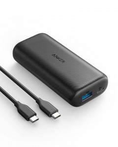 Anker PowerCore 10000 mAh USB-C PowerDelivery črn