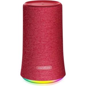 Anker Soundcore Flare Bluetooth 360° prenosni vodoodporni zvočnik, rdeč