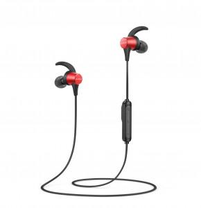Anker Spirit Pro brezžične športne slušalke črno-rdeče