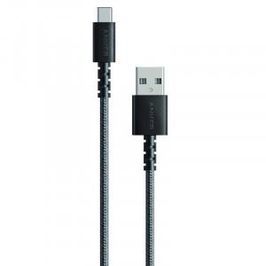 Anker Powerline Select+ USB-C pleten kabel 1,8m črn