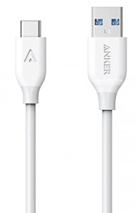 Anker Powerline USB-C kabel 0,9m bel