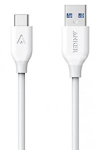 Anker Powerline USB-C kabel 0,9m bel
