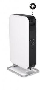 MILL oljni radiator Wi-Fi 1500W bel jeklo AB-H1500WIFI