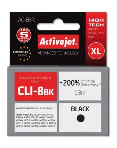 Activejet črno črnilo Canon CLI-8Bk