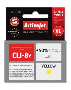 ActiveJet rumeno črnilo Canon CLI-8Y