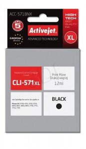 ActiveJet črno črnilo Canon CLI-571B XL