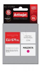 ActiveJet magenta črnilo Canon CLI-571M XL