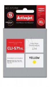 ActiveJet rumeno črnilo Canon CLI-571Y XL