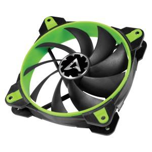 ARCTIC BioniX F120 PWM PST 120mm 4-pin ventilator, zelen