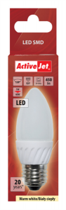 ActiveJet LED sijalka, 5W, E27, topla svetloba