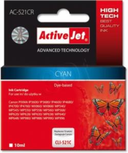ActiveJet cyan črnilo Canon CLI-521C