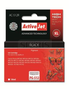 ActiveJet črno črnilo Canon PG-512