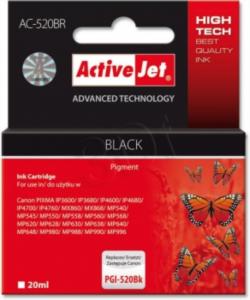 ActiveJet črno črnilo Canon PGI-520B