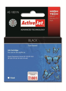ActiveJet črno črnilo Epson T1801