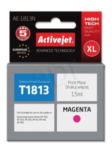 ActiveJet magenta toner Epson T1813